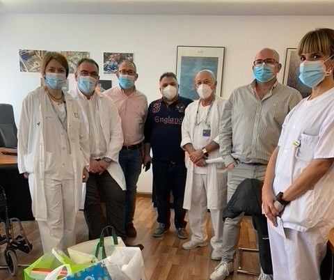 Donación PequesdeOro Hospital Clíncio de Valladolid